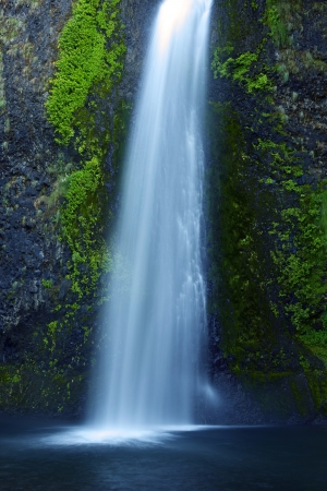 waterfalls: Oregon Waterfall. Waterfalls Photo Collection. Oregon, USA. Stock Photo