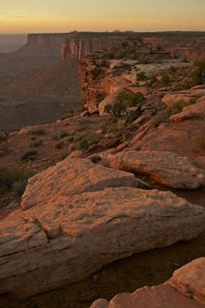 canyonland: Canyonland Sunset Scenery - Utah State, USA. Canyonlands National Park. Utah Photography Collection.