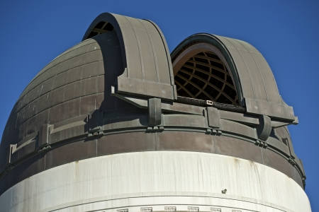 Telescope Dome - Griffith Observatory, California, USA. Stock Photo - 15543803