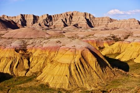 sedimentary: Badlands National Park, South Dakota, USA. Badlands Landscape - Nature Photography Collection