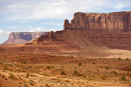 Monument Valley Panorama - Northern Arizona, USA. Monument Valley Navajo Tribal Park
