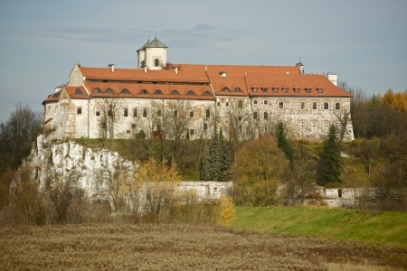 casimir: Tyniec Abbey, Krakow, Poland, Europe. The Benedictine Abbey. Historical Place Near Krakow. Architecture Photo Collection.