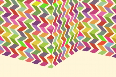 Folded Colorful Pattern - Cool Colorful Background Design.