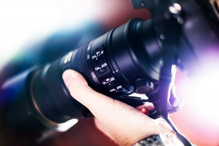 vibration: Taking Pictures - Telephoto Lens with Image Stabilization System ( VR Vibration Reduction ) Digital Photography Theme.