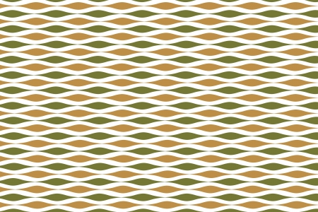 meshy: Orange-Green Pattern. Seamless Two-Color Background.