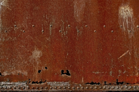 corroded: Rusty Dirty Corroded Metal Background - Corroded Burned Red Metal Photo Background.