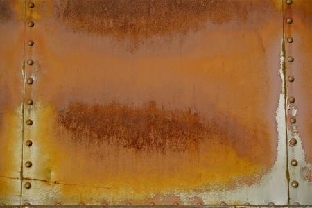 Corroded Background. Rusty Orange Corroded Metal Background. Stock Photo - 19642447