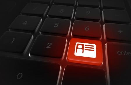 identity protection: Identity Theft Online - Safe Internet Browsing Illustration. Internet Technologies Illustration Collection.