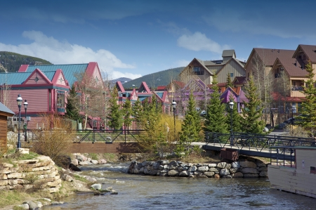 colorado: City of Breckenridge - Summit County, Colorado, United States  Breckenridge Downtown