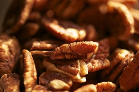 pecans: Pecans Nuts Closeup Photo. Organic Pecans