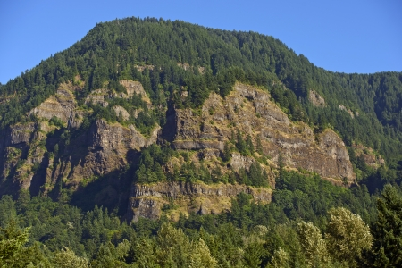 Oregon Hills. Oregon State Nature Landscape. Columbia River Gorge. Nature Photo Collection. photo