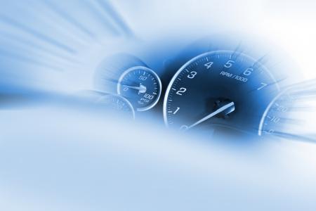 compteur de vitesse: Compteur de vitesse Dash - Transports thème.