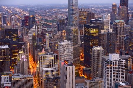 Chicago Skyline Editorial