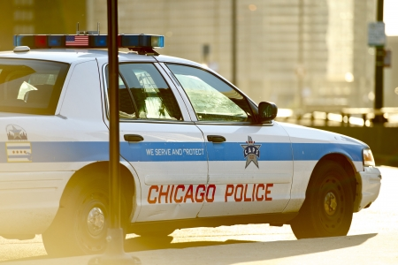 dui: Chicago Police Cruiser. Safety Enforcement Vehicle. Chicago, Illinois, USA.