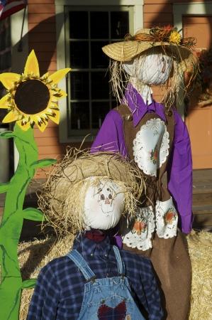 Halloween Scarecrows Decoration  Halloween Photo Collection  photo