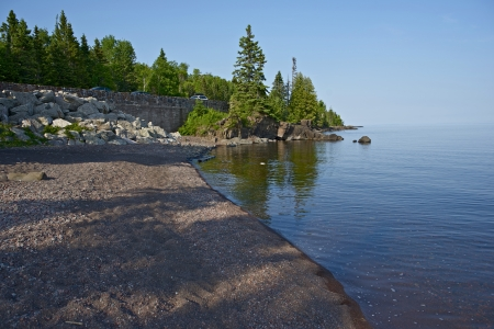 superior: Lake Superior Western Shore  Northern Minnesota, USA  MInnesota Photo Collection