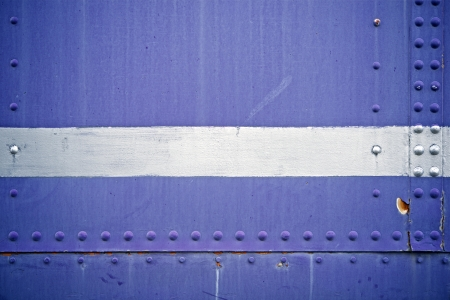 rivets: Blue Metal Background with Rivets. Backgrounds Collection.