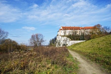 canonical: Abbey in Poland. Tyniec Abbey in Cracow, Poland, EU. Summer in Malopolska.  Editorial