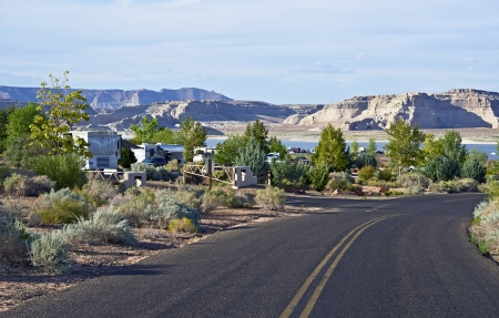 rv: Large RV Park in Northern Arizona - Lake Powell Area. RVing and Camping Photo Collection.