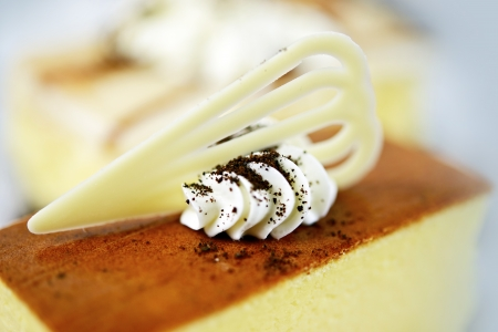 Piece of Delicious Cheesecake. Cakes Photo Collection. Imagens