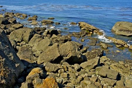 Rocky Ocean Shore - American Northwest Pacific Ocean  Stock Photo - 24702313