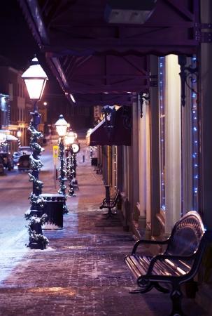 main street: Main Street Decoration. Central City Main Street Holidays Decoration.