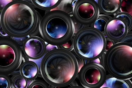 photography backdrop: Photography Backdrop Concept. Photography Optics Pattern Background