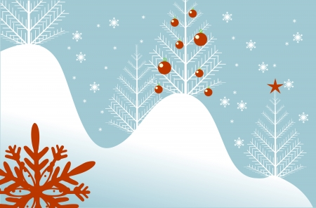 artisitc: Cool Light Blue Winter Backdrop Abstract illustration.
