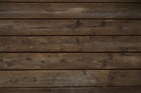 reclaimed: Reclaimed Dark Wood Background. Horizontal Old Weathered Planks.