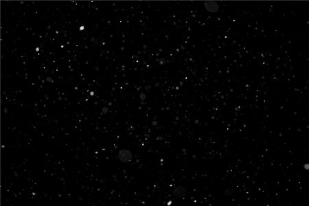 nakładki: Majątek Light Snow samodzielnie na czarno. Padający śnieg Kanał Alfa Version 2 - Światło. Zdjęcie Seryjne