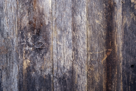 Aged Reclaimed Wood Background. Vertical Aged Planks.