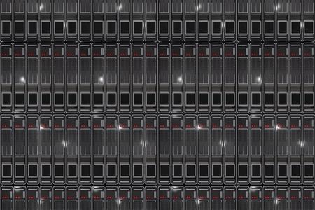 Server Racks Background. Modern Servers Backdrop.