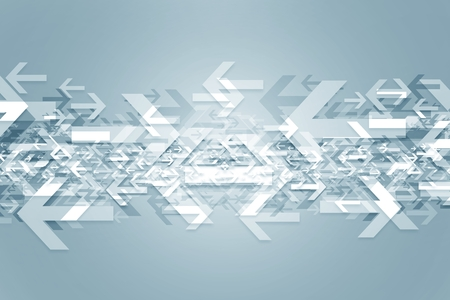 Tegenovergestelde richtingen abstracte achtergrond afbeelding met veel pijlen rubriek verschillende richtingen.