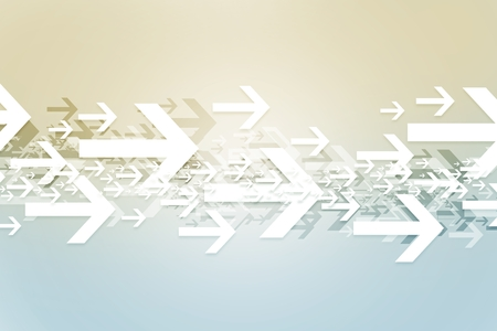 Abstract Arrows Background. Direction Abstraction Backdrop Illustration.
