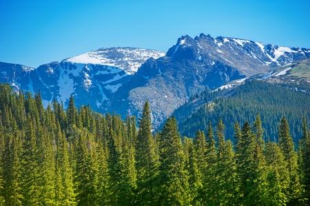 Mountain Peak. Colorado Mountains Landscape, United States.