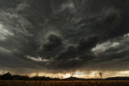 Coming Storm. Colorado Front Range Summer Storm.