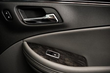 security door: Luxury Car Door Closeup Photo.