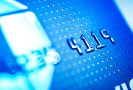scamming: Debit Bank Card Closeup Photo.