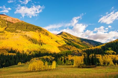 rocky mountains colorado: Colorful Colorado Lands. Fall in the Rocky Mountains. Colorado, United States.