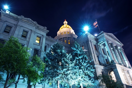 Colorado State Capitol. Capitol Building in Denver, Colorado, USA.