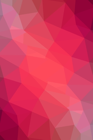 Pink Low Poly Geometric Abstract  Imagens