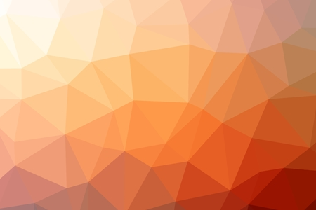 Triangle Low Poly . Reddish Orange Low Poly Backdrop.