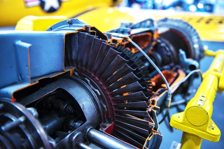 Jet Turbine Engine Perfil. Tecnologías de la aviación militar.