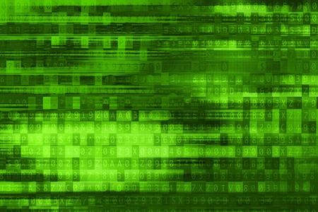 passcode: Digital Green . Cool Abstract Green Technology .