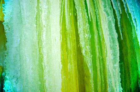 photo backdrop: Winter Nature Photo Backdrop. Green Icicles