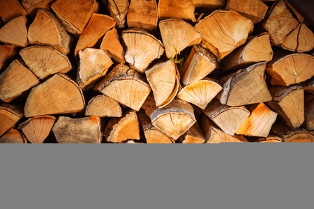 photo backdrop: Firewood Bundle. Pile of Firewood Photo Backdrop. Stock Photo
