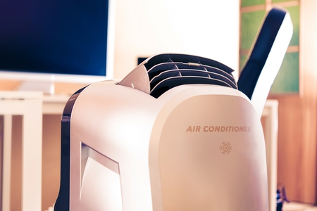 New Portable Air Conditioner in the Office