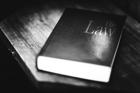 The Law Book. Black and White