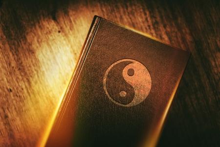 Taoïsme Symbool van de Dekking van het Boek.