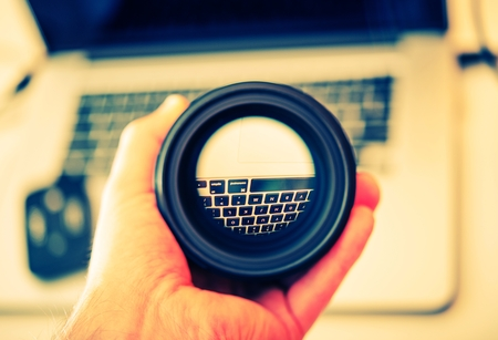 Digital Photography Lens Cleaning. 35mm Lens Check.